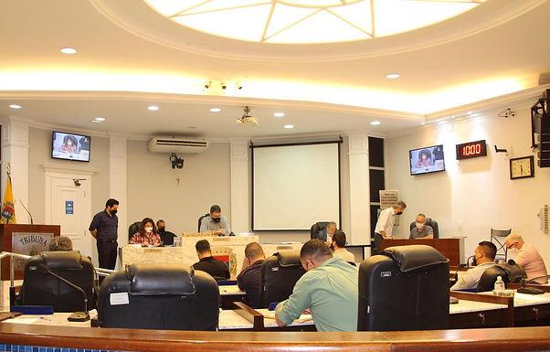 Câmara de Vereadores retoma sessões após recesso com sete matérias em pauta