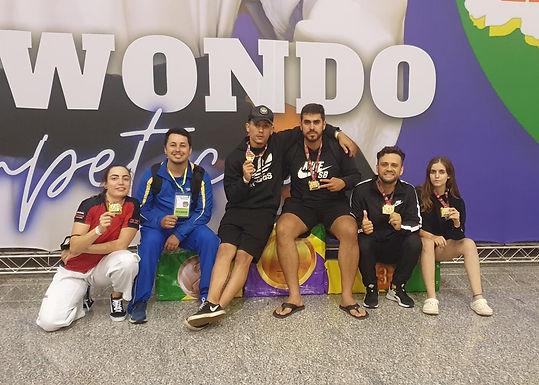 Catanduva conquista cinco medalhas na Copa América de Taekwondo