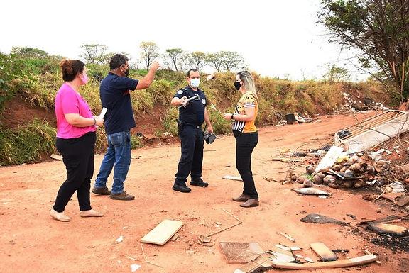 Prefeitura usa drone para reforçar fiscalização de descarte irregular de materiais