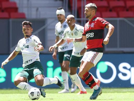 Na parte de cima da tabela, Palmeiras e Flamengo duelam em São Paulo