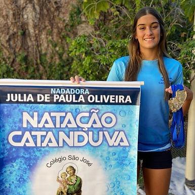 Catanduvense conquista medalha de ouro no Campeonato Paulista de Natação