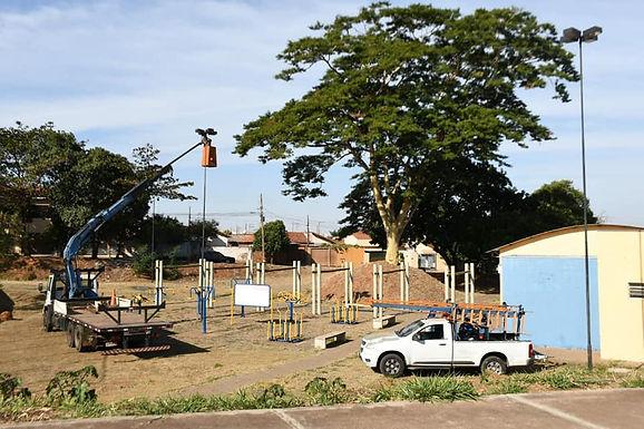 Prefeitura restabelece iluminação em Complexo Esportivo após furto de fiação