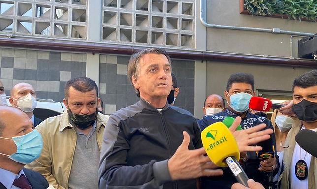 Bolsonaro recebe alta médica