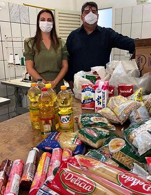 'Vacina Contra a Fome' garante alimentos para entidades de Santa Adélia