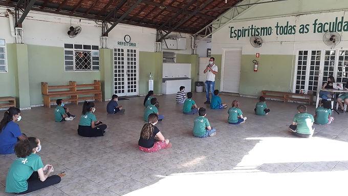 Equipe de Combate ao Aedes faz ações educativas em instituições da cidade