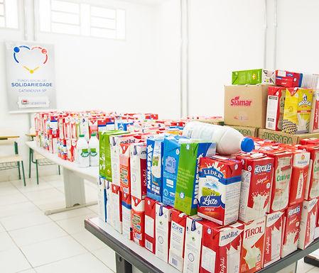 Inscrições das oficinas culturais arrecadam 1,2 mil litros de leite
