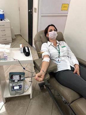 Unimed Catanduva incentiva a doação de sangue para o Hemonúcleo