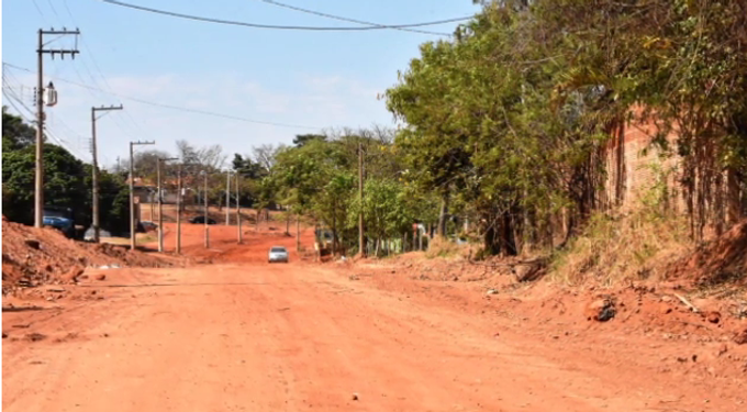 Prefeitura garante obras na Rua Mongaguá com nova verba do Governo do Estado