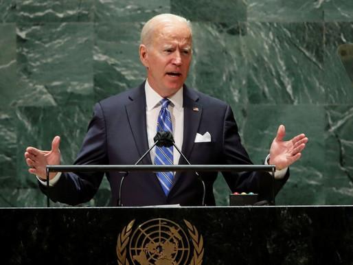 """Biden assegura que Estados Unidos """"não procuram nova guerra fria"""""""