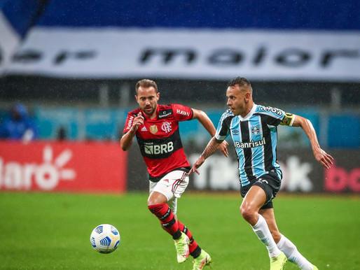 Flamengo e Grêmio duelam em busca de vaga na semifinal na Copa do Brasil