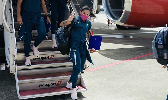 Olimpíada: seleção feminina desembarca em Tóquio a 5 dias da estreia