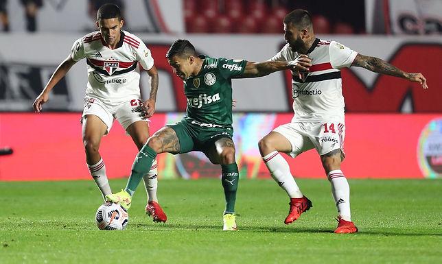 São Paulo e Palmeiras ficam no 1 a 1 pela Libertadores