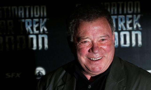 Ator que interpretava o Capitão Kirk vai pela primeira vez ao espaço