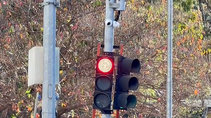 Prefeitura instala câmeras em semáforos do Centro