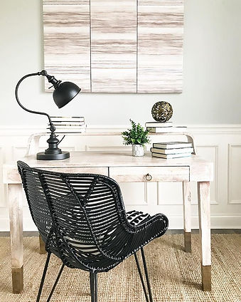 Home office staging