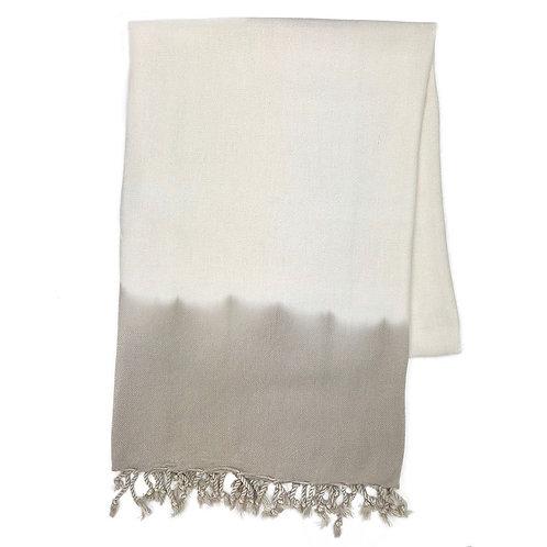 Sand Dip Dye Turkish Beach Towel