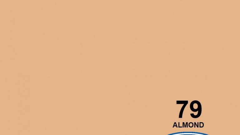"107"" Almond #79 Seamless Paper"