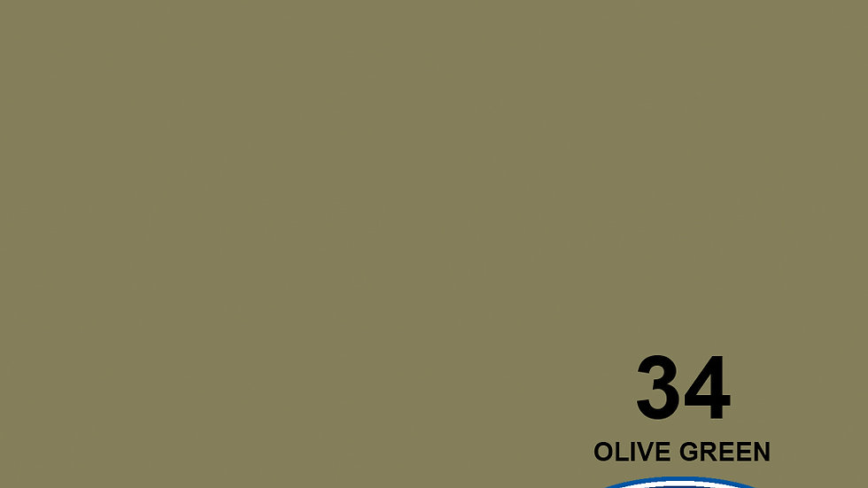 """107"""" Olive Green #34 Seamless Paper"""