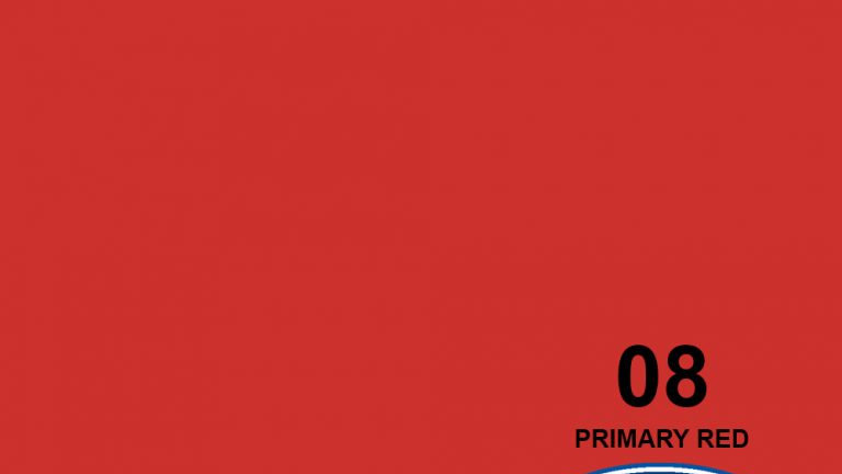 """107"""" Primary Red #8 Seamless Paper"""