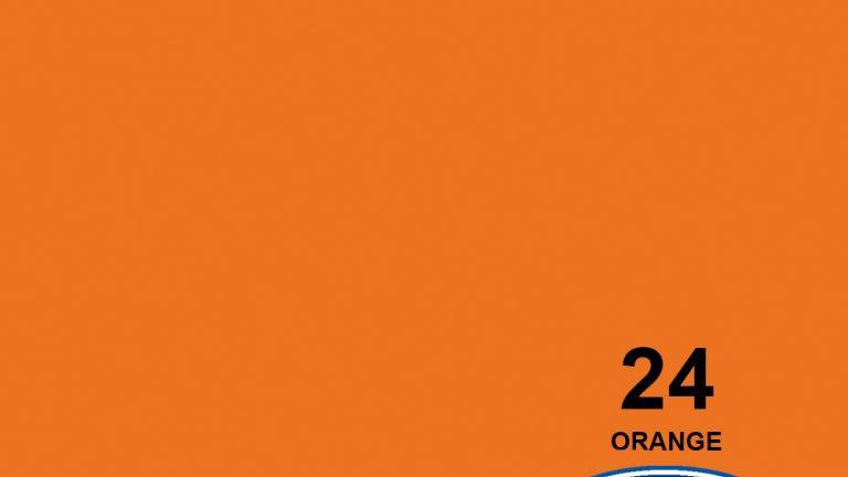 "53"" Orange #24 Seamless Paper"
