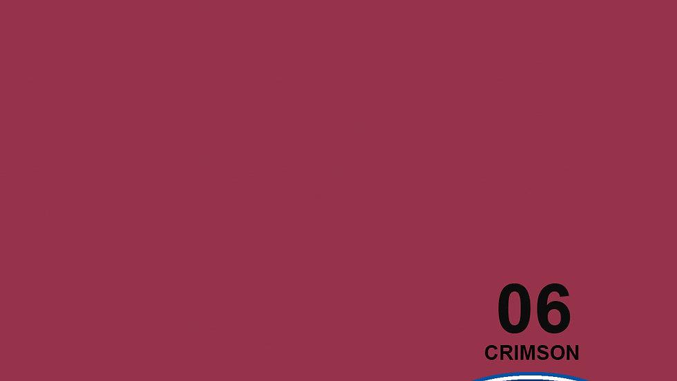 "107"" Crimson #6 Seamless Paper"