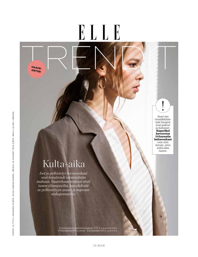 Elle Finland / kesäkuu 2018