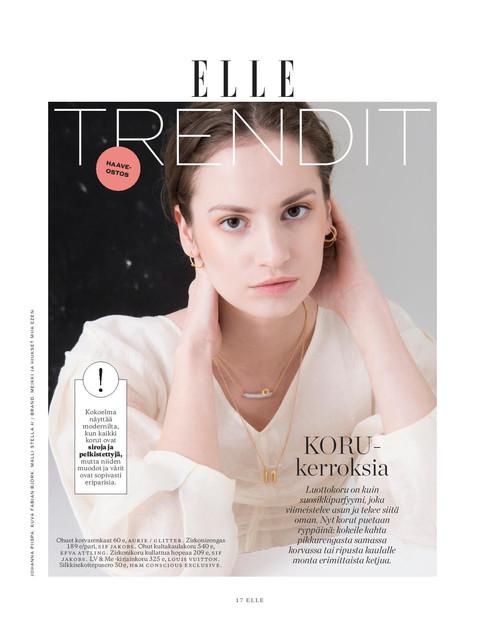 Elle Finland / huhtikuu 2018