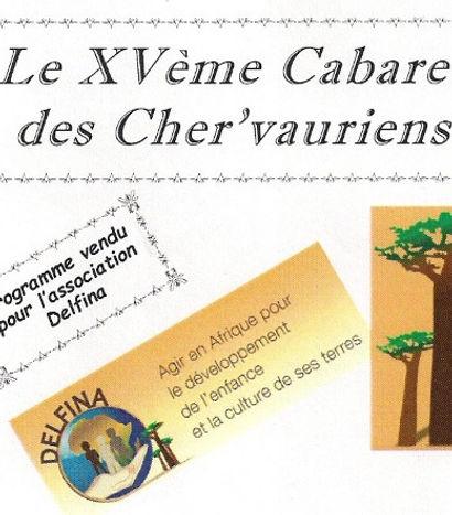 Programme Cabaret de Cherveux Recto 2014