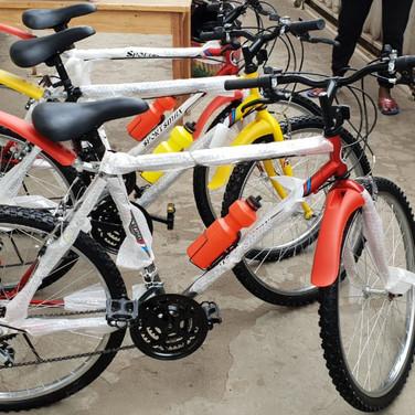Achat de 8 vélos supplémentaires