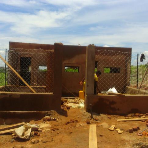 Construction poulailler
