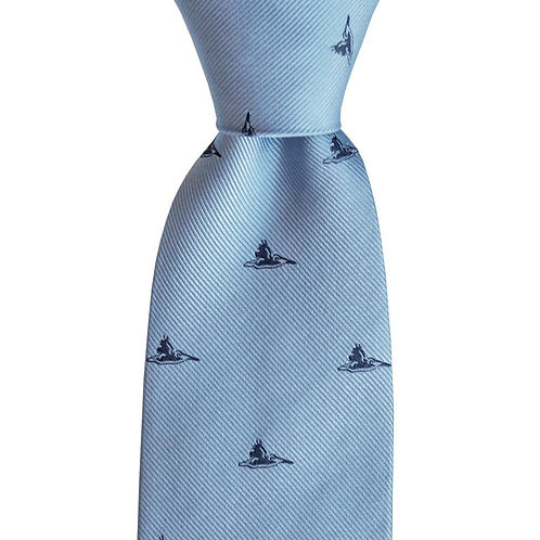 Pelican Skinny Woven Tie
