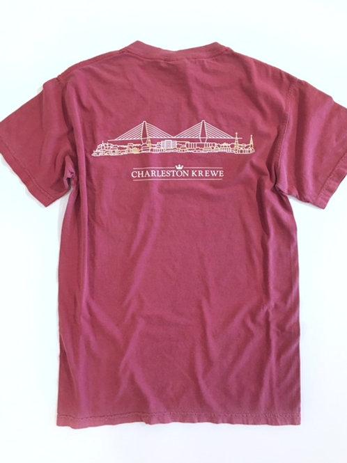 Comfort Colors Charleston Skyline T-Shirt