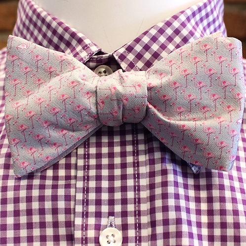 Flamingo Bow Tie