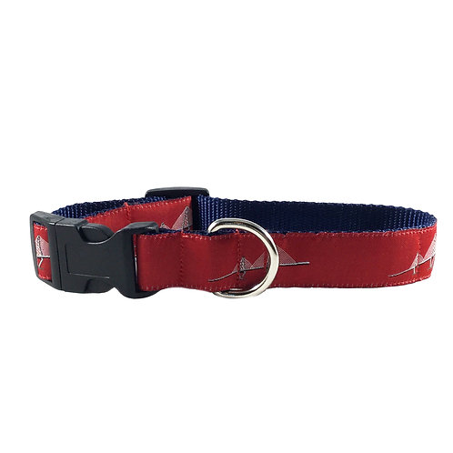 Ravenel Bridge Dog Collar