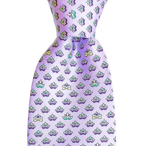 Mardi Gras Masks Tie