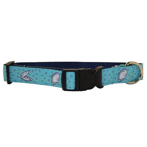 Gulf Oyster Dog Collar