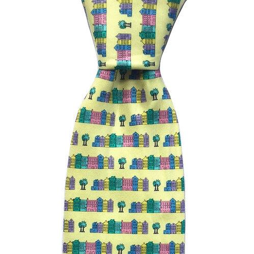 Rainbow Row Tie