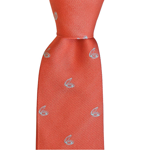 Oyster Skinny Woven Tie