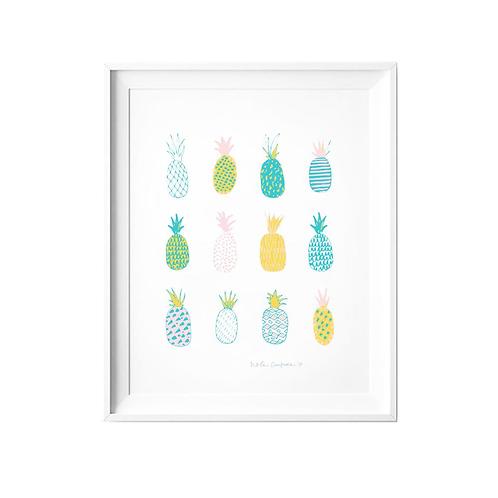 Pineapples Print
