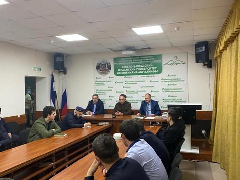 При Северо-Кавказском исламском университете им. имама Абу Ханифы будет создан волонтерский клуб