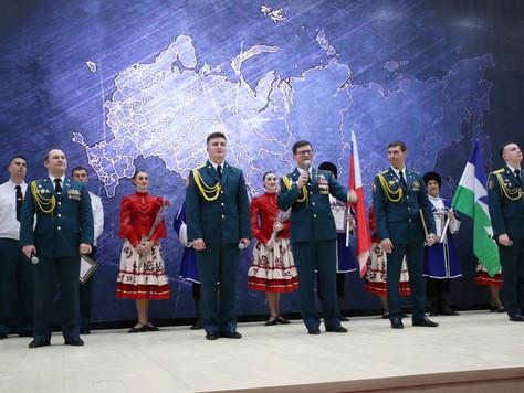 В МОУ СОШ № 33 г.о. Нальчик отметили 5-летие со дня образования Войск Национальной гвардии РФ
