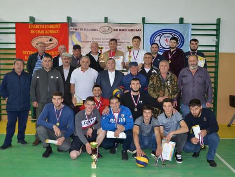 Турнир по волейболу памяти воинов-интернационалистов в с. п. Кахун