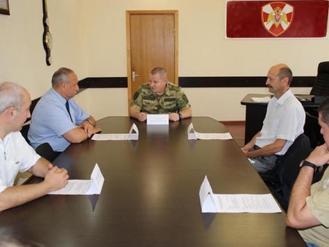В Управлении Росгвардии по КБР состоялся круглый стол с представителями общественных военно-патриоти