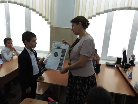 Специалисты заповедника «Дагестанский» провели просветительский урок для учеников МКОУ «Прогимназия