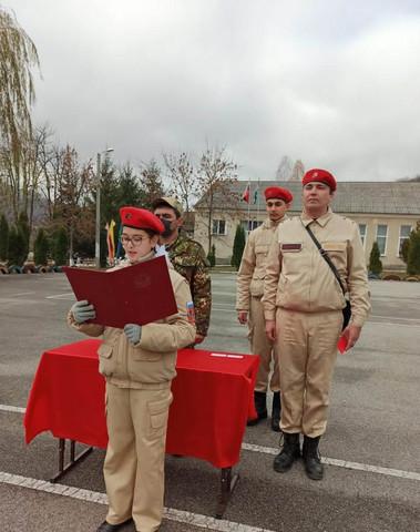 Команда штаба юнармии г.Сочи в Кабардино-Балкарии