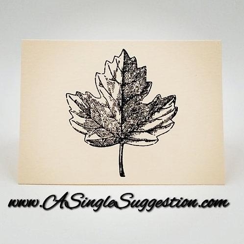 Leaf Note Card Set