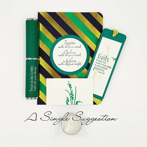 Imagine. Believe. Achieve. Gift Set
