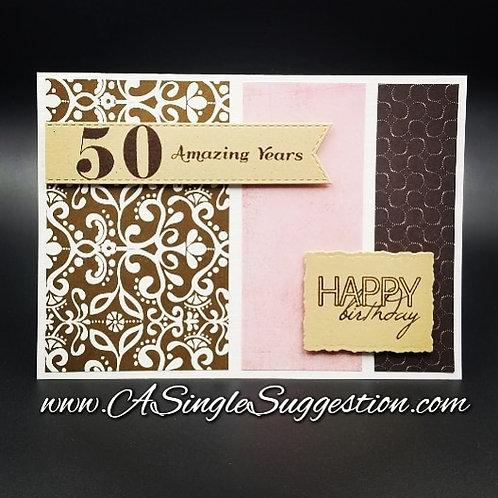 50 Amazing Years