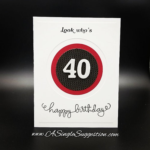 Look who's 40