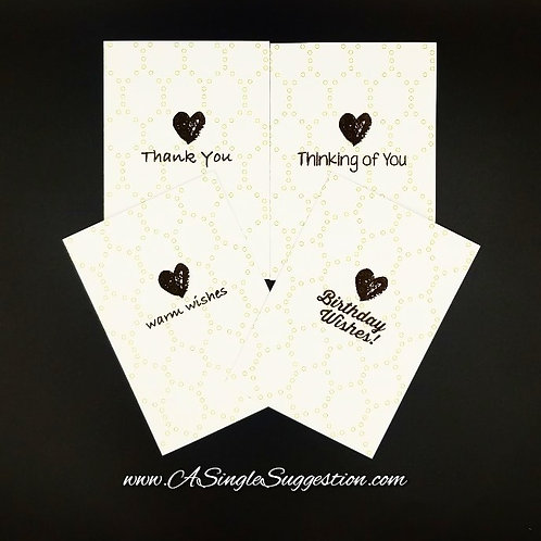 Heart Variety Note Card Set